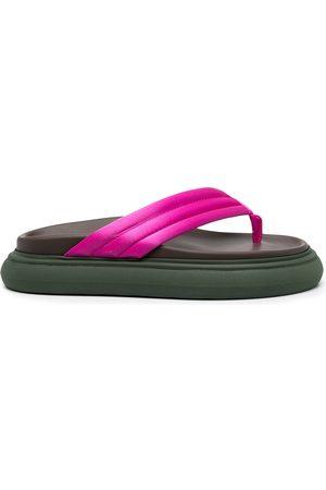 The Attico Thong strap platform sandals