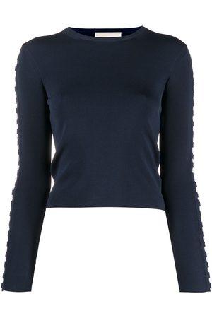 Michael Kors Lace-up detail sweatshirt