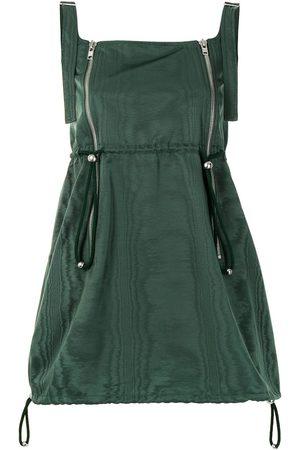 DION LEE Zip Balloon mini dress