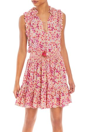 POUPETTE ST BARTH Triny Printed Mini Dress