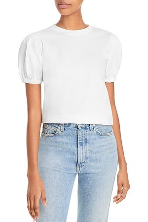 Derek Lam Eva Cotton Puff Sleeve Tee