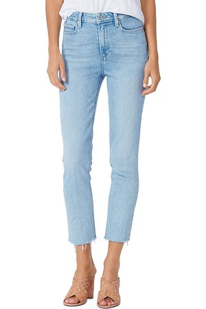 Paige Cindy Raw Hem Skinny Jeans in Park Ave