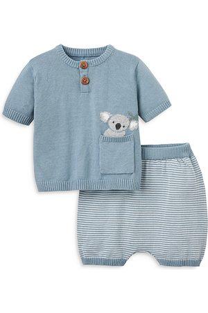 Elegant Baby Boys' Koala Sweater Shorts Set - Baby