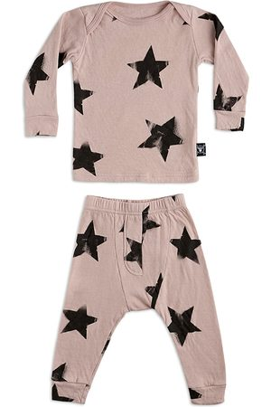 Nununu Unisex Cotton Star Top & Pants Set - Baby