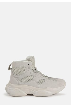 Missguided Women Sneakers - High Top Bubble Sole Sneakers