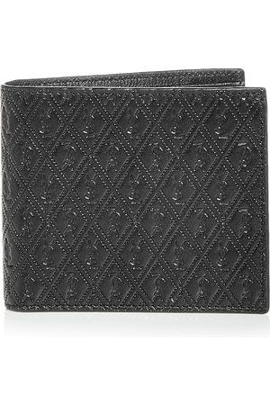 Saint Laurent Logo Embossed Leather Bifold Wallet