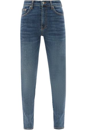 BROCK COLLECTION James High-rise Slim-leg Jeans - Womens - Denim
