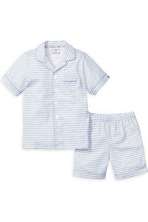 Petite Plume Unisex La Mer Sleep Shorts Set - Baby, Little Kid, Big Kid