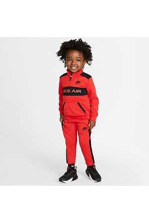 Nike Boys' Toddler Air Tricot Half-Zip Pullover and Jogger Pants Set in /University