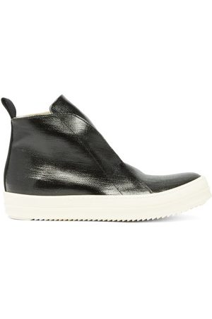 Rick Owens Scarpe High-top Coated-canvas Trainers - Mens