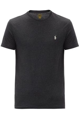 Polo Ralph Lauren Logo-embroidered Cotton-jersey T-shirt - Mens
