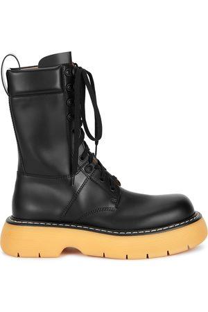 Bottega Veneta The Bounce leather mid-calf boots