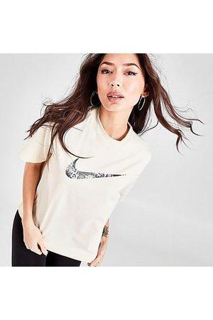 Nike Women T-shirts - Women's Sportswear Exotic T-Shirt in Off- /Coconut Milk