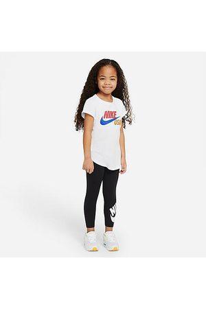 Nike Girls' Little Kids' High-Waisted Leggings in /