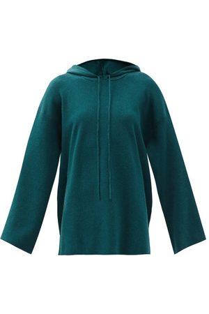LIVE THE PROCESS Women Sweatshirts - Baja Cotton-blend Jersey Hooded Sweatshirt - Womens - Dark