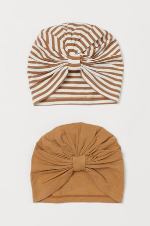H&M 2-pack Cotton Turbans