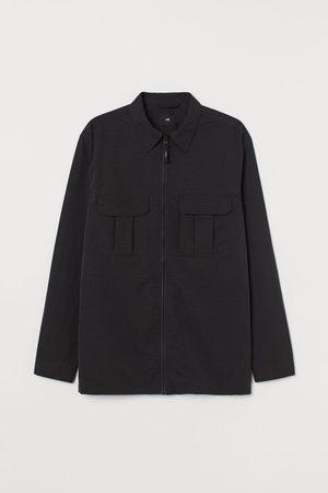 H&M Men Jackets - Nylon Shirt Jacket
