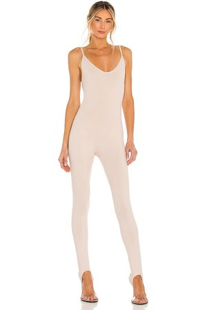 Lovers + Friends Women Camisoles - Cami Catsuit in Taupe.
