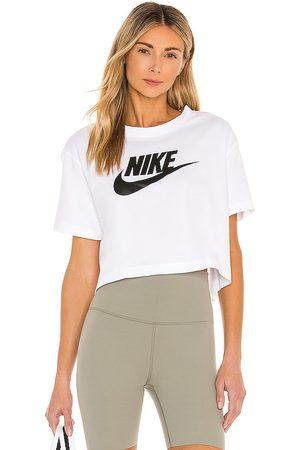 Nike Women Sports T-shirts - NSW Essential Crop Tee in .
