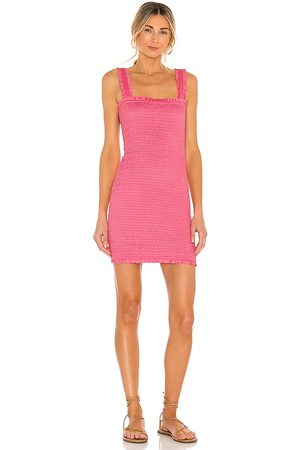 Mikoh Magnolia Dress in Pink.