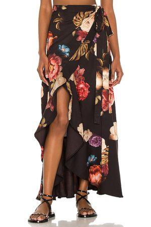 Agua Bendita Brasil Shade Wrap Skirt in .