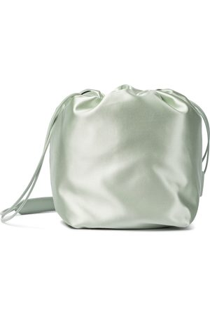 Jil Sander Small satin bucket bag