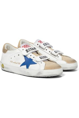Golden Goose Old School leather sneakers