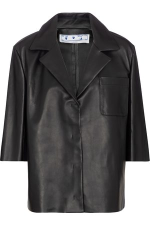 OFF-WHITE Leather shirt