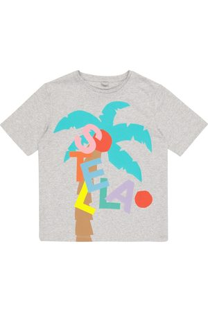 Stella McCartney Printed organic cotton T-shirt