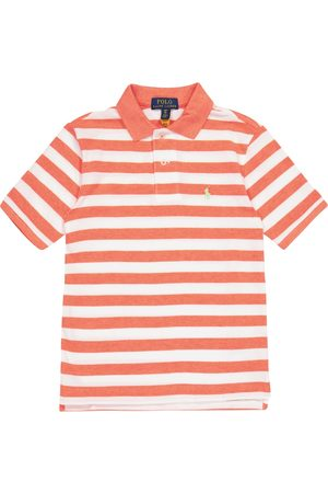 Ralph Lauren Boys Polo Shirts - Striped cotton piqué polo shirt