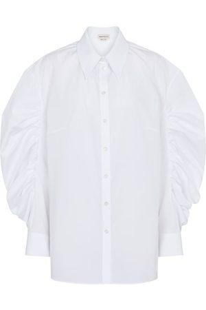 Alexander McQueen Cotton poplin shirt
