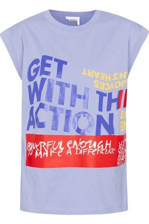 Chloé Printed cotton jersey T-shirt