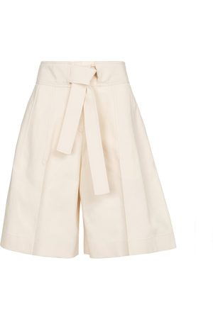 Jil Sander High-rise cotton Bermuda shorts