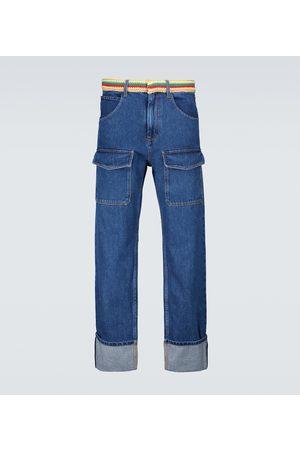 WALES BONNER Brixton patch pocket jeans