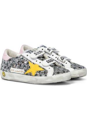 Golden Goose Old School glitter sneakers