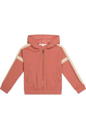 Chloé Zipped stretch-jersey hoodie