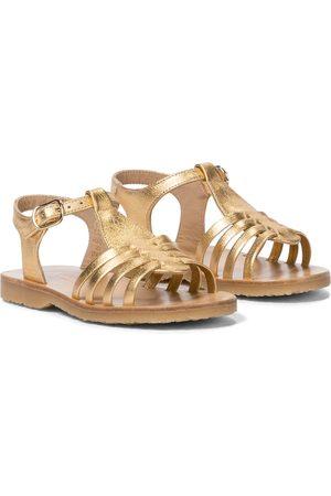 BONPOINT Girls Sandals - Leather sandals
