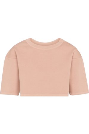 Alaïa Stretch-knit crop top