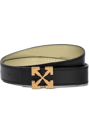 OFF-WHITE Arrow leather belt