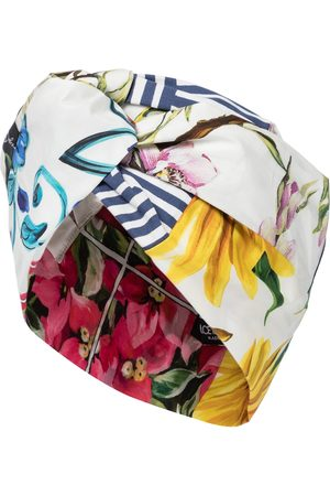 Dolce & Gabbana Women Hair Accessories - Printed cotton-blend turban