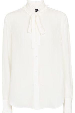 Polo Ralph Lauren Tie-neck silk shirt