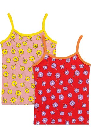 Stella McCartney Girls Tank Tops - Set of 2 cotton tank tops