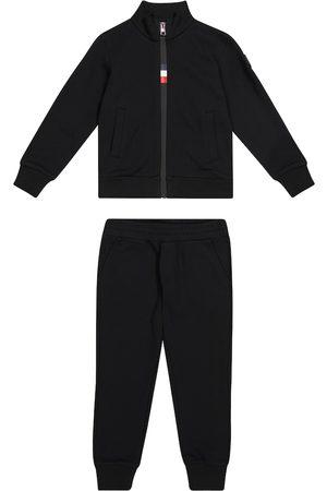 Moncler Cotton jersey tracksuit
