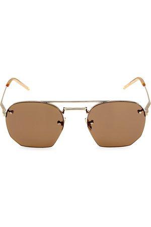 Saint Laurent New Wave 52MM Round Sunglasses