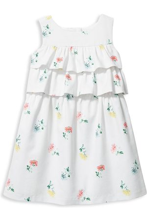 Janie and Jack Girls Printed Dresses - Little Girl's & Girl's Ditsy Floral Dress - - Size 4