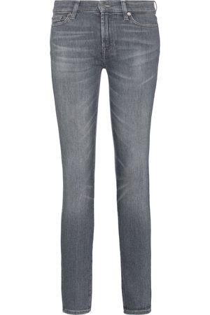 7 for all Mankind The Skinny Slim Illusions mid-rise jeans