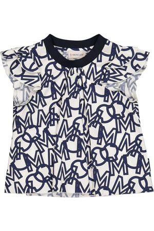 Moncler Logo cotton tunic top