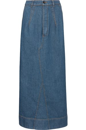 Tod's Denim maxi skirt