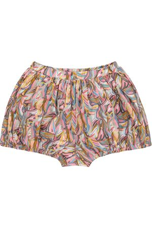 PAADE Jungle printed cotton shorts