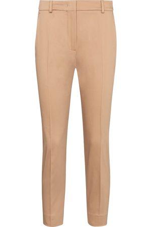 Max Mara Calcut stretch-cotton cropped pants